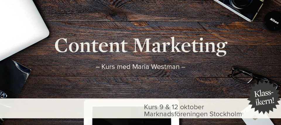 Kurs: Content Marketing