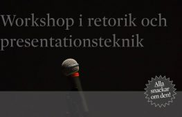 Kurs: Retorik och presentationsteknik