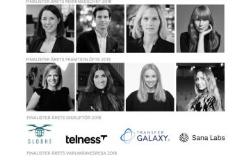 Pressmeddelande: Finalister 2018