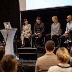 Anna-Karin Holck, Johan Lidenmark, Matilda Wiechel, Payman Hazheer och Alex Baker