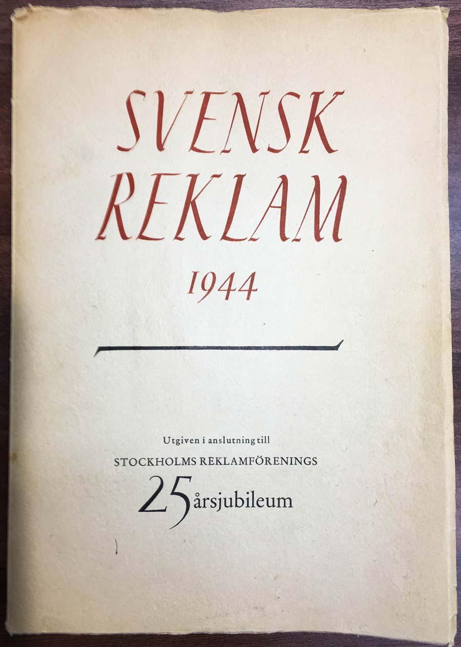 Svensk reklam 1944