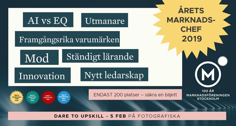 Årets Marknadaschef 2019