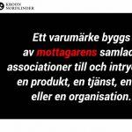 Varumärkeskommunikation