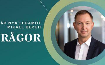Möt Mikael Bergh, ny ledamot i styrelsen!