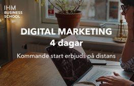 [I samarbete med IHM] ONLINE: Digital Marketing