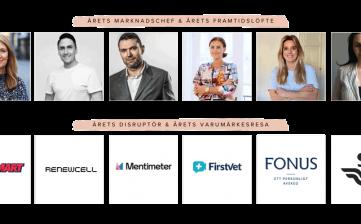 Finalisterna klara för tävlingen Årets Marknadschef 2020