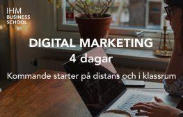 FULLSATT [I samarbete med IHM] ONLINE: Digital Marketing